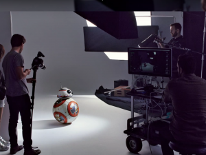 Behind the Scenes with Star War's BB8 Droid